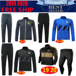 Discount football suits - 2019 new INTER SOCCER sets training suit 18 19 20 ICARDI LAUTARO NAINGGOLAN PERISIC chandal FOOTBALL jacket kits tracksu