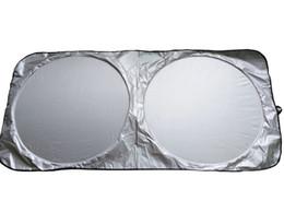 Ingrosso Copriauto Auto Anteriore Posteriore Finestra Foil Parasole Auto Parabrezza Parapetto Coperchio Finestra Anteriore Parasole UV Protect Car Window parasole