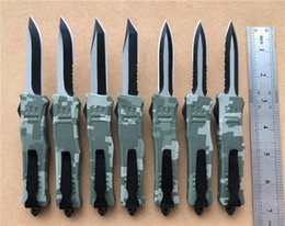 $enCountryForm.capitalKeyWord Australia - 7 Inch Army Digital Camo Small 616 D A AUTO Tactical Knife Camping Survival EDC Hunting Knife Mini Pocket Knives With Sheath P381R