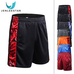 $enCountryForm.capitalKeyWord NZ - S-XL Quick Dry Men Running Shorts Compression Workout Fitness Short Leggings Athletic Sportswear Breathable Cosy Spandex Print