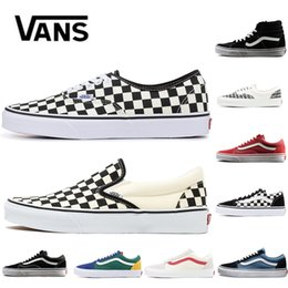 ba15f19976 New Original Vans Old Skool Fear Of God classic Men Women Canvas Sneakers  CHECKERBOARD Black White YACHT CLUB MARSHMALLOW Skate Casual Shoes