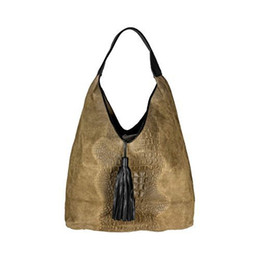 China Cosima Leone - Coco Handbag With 1 Leather Handle And Fringe Tassel suppliers