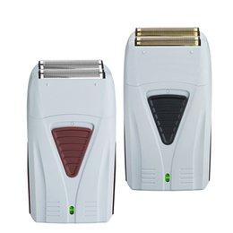 Toptan satış Elektrikli Saç Tıraş Makinesi makası AL-Taşınabilir Siyah berber salonu saç sakal profesyonel tıraş makinesi saç