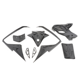 carbon fairings UK - Motorcycle Carbon Fiber Plastic Body Work Fairing Kit Compatible for Yamaha NVX155 L155 Aerox155