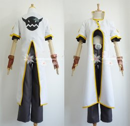 anime clothing for Canada - 2019 Tales of the Abyss Luke Fon Fabre Cosplay Costume For Men Halloween Costumes Party Clothes