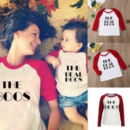 matching mommy daughter shirts UK - CANIS 2019 Casual Matching Mother Daughter Mommy And Me Clothes Shirt Family Look Clothing Outfit