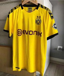 Fine men online shopping - 19 New Thailand Borussia Dortmund Soccer Jersey Batshuayi mGOTZE Jersey Embroidery Logo Cheap and Fine
