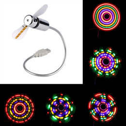 Colorful Cooling fans online shopping - Colorful Small Mini Flexible USB Cooling Fan Desk Cooler for PC Notebook Laptop Gift