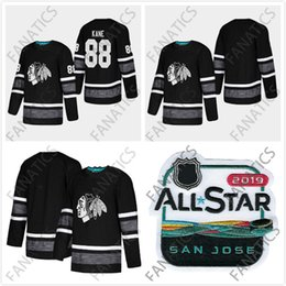 Cheap 2019 All Star Jersey Chicago Blackhawks Men 88 Patrick Kane Black  Blank Top Quality 2019 All Star Patch Hockey Jersey 187b24f8a