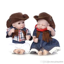 $enCountryForm.capitalKeyWord Australia - 25cm Mini Full Body Silicone Reborn Baby Doll Toys Lifelike Handmade Newborn Boy Girl Dolls Bedtime Play House Bathe Shower Toy