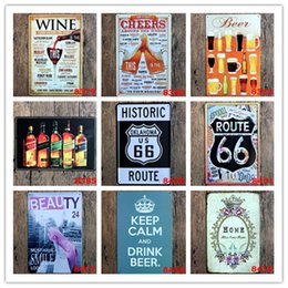 $enCountryForm.capitalKeyWord NZ - Wine Beer Route 66 Beauty Home Vintage Metal Poster Bar Home Garage Gas Station Pub Cafe Hotel Living Room Bakery Decor Wall Art Poster