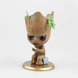 $enCountryForm.capitalKeyWord NZ - Groot model figure action The Avengers toys gift figures anime Guardians of the Galaxy nendoroid cartoon kids toys PVC