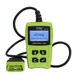 can analyzer Australia - JD101 OBD2 EOBD CAN Code Scanner Car Diagnostic Tool multifunctional Car Code Reading Scanner for Universal Cars