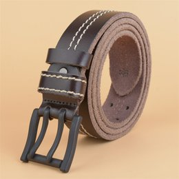 $enCountryForm.capitalKeyWord Australia - Cowboy Thicken Cowhide Belt Vintage Durable Belts Mens Classic Waist Straps Old Fashions Casual Hiphop Leather Belt Gentlemen Jean Cow Belts
