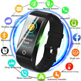 $enCountryForm.capitalKeyWord Australia - Bangwei Fitness Smart Watch Men Women Pedometer Heart Rate Monitor Waterproof Ip68 Swimming Running Sport Watch For Android Ios MX190716