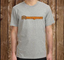c16f965be Camiseta de talla grande Camiseta regular corta para hombre Mongoose  Cycling Bike Tee Shirt