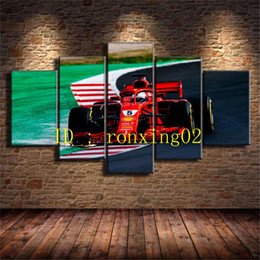More Painting One Australia - One F1 Cars 2018,5 Pieces Home Decor HD Printed Modern Art Painting on Canvas (Unframed Framed)