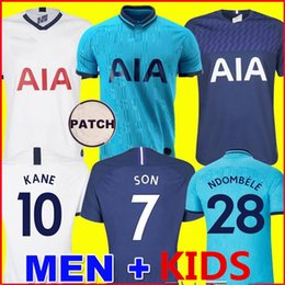 spurs shirt Australia - Tottenham KANE soccer jersey spurs 2019 2020 LUCAS jerseys ERIKSEN DELE SON 19 20 football shirt NDOMBELE uniforms third men + kids kit