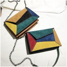 $enCountryForm.capitalKeyWord UK - Hot sale mini bag 2019 new fashion hit color small square bag Korean version of wild chain single shoulder messenger bag