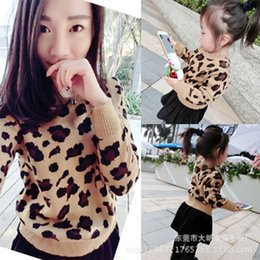 Sweaters Baby Boys Australia - 2019 Baby Boy Girl Sweaters Women Cardigan Pullover Leopard Family Look Matching Mother And Daughter Clothes Outfits J190517