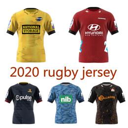 venda por atacado Tamanho 2020 Super Rugby Jersey escoceses cruzados casa Jersey 2021 furacões azuis Rugby camisa 5XL S-