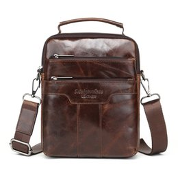 Genuine Leather Man Bag Small Australia - messenger for men MEIGARDASS new style male genuine leather handbag man bag crossbody shoulder bag small Casual messenger bags for men