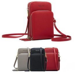 $enCountryForm.capitalKeyWord Australia - Crossbody Cell Phone Shoulder Bag Arrival Cellphone Bag Fashion Daily Use Card Holder Mini Summer Shoulder Bag for Women Wallet Y190606