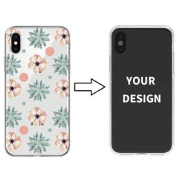 Custom Printed Iphone Cases Australia - Custom Printed Soft TPU Phone Case for iPhone X XS XR Samsung S10 S10 plus Flexiable Back Cover Painted Phone Shell