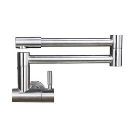 $enCountryForm.capitalKeyWord UK - Free Rotation Single Cold Kitchen Faucet Foldable Sink Water Tap Stainless Steel Brushed Wall Mounted Free Shipping
