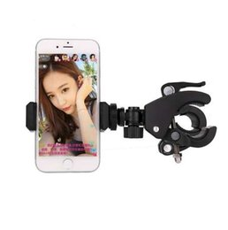 Bicycle Adapter NZ - Eshowee Universal Cell Phone Mount Holder Adapter, Bicycle Handle   Tripod   Monopod Clamp Clip Phone Stand