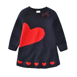 $enCountryForm.capitalKeyWord UK - spring baby girl Sweater dress long sleeve cotton pattern kids knitted sweater kids clothes girl dress children clothes school
