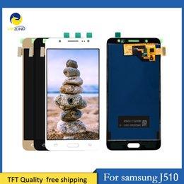 Samsung Galaxy Lcd Screen Australia - Cellcore Adjustable Brightness LCD For Samsung Galaxy J5 2016 J510 J510FN J510F J510G J510Y LCD Display+Touch Screen Digitizer Assembly