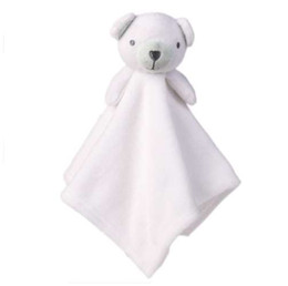 Plush Towels UK - Baby Plush Toy Cute Animals Comfort Towel Toys Soft Appease Dolls Cartoon Animal Playmate Sleeping Toys For Baby