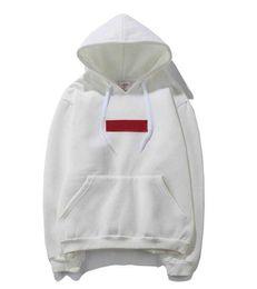 $enCountryForm.capitalKeyWord Australia - Mens Brand Hoodie Red Letter Mark Designer Sweatshirt Street Hip Hop Classic Embroidery Men Luxury Pullover sweater factory Outlet S-XXL