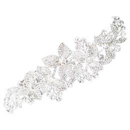 $enCountryForm.capitalKeyWord UK - Bridal Hair Comb Clip Flower Rhinestone Hair Combs Wedding Accessories Bride Headwear Headpiece Head Jewelry