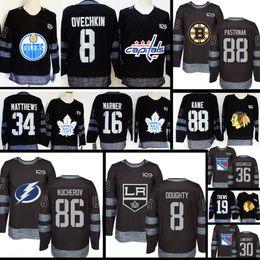 c5e84b7be 100th 16 Mitch Marner Toronto Maple Leafs Jersey New Boston Bruins 88 David  Pastrnak 37 Patrice Bergeron 63 Brad Marchand Hockey Jerseys