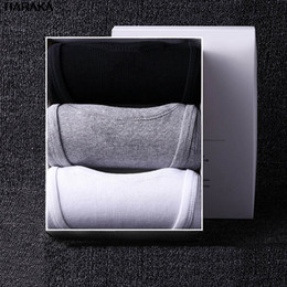 $enCountryForm.capitalKeyWord Australia - Sexy Mens Undershirts Causual Tops Shirts Solid Cotton Slim Male Undershirt Tank Vest Bottoming Underwear Shirt for Men