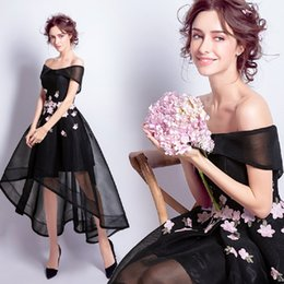 Sexy black pregnant dreSS online shopping - 2018 new stock plus size women pregnant bridesmaid dresses wedding party A line flower boat neck sexy romantic cheap black
