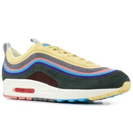 321a016d43de New 97 VF SW Mens Running Shoes Shock Orange Mica Green Orewood Brown 1 97  Sean Wotherspoon Women Trainers Sports Sneakers 36-46