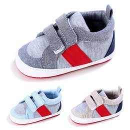 Walkers For Toddlers Australia - Toddler Shoes First Walker Newborn Infant Baby Boys Girls Patch Anti-slip Soft Shoes Fashion Cotton Shoe For baby A84L25