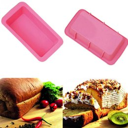 Pans Australia - Baking Dishes Silicone Cake Mould Pan Oven Rectangle Mould Silicone Bread Loaf Cake Mold Forms Non Stick Free DHL HH7-1962
