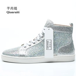 $enCountryForm.capitalKeyWord Australia - New Product silver color Lace-Up Classic Design high-top Male Casual Shoes Handmade Outdoor Footwear Men Casual Shoes