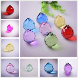 Home Decor Cheap Sale 20mm Clear Top Quality Pendant 10pcs Lamp Act The Role Ofing Ball Wedding Decoration Transparent Crystal Home Decoration Easy And Simple To Handle