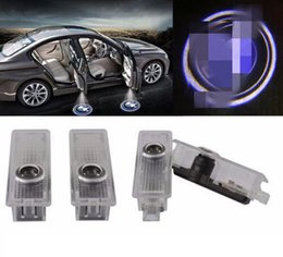 Wholesale 100PCS Car Door Courtesy LED Projector Ghost Shadow Light for BMW Logo Welcome Lights
