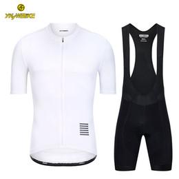 Custom Designed Clothing Australia - YKYWBIKE 2019 Cycling Bib Sets Men Short Sleeve Cycling Suit Breathable Quick Dry Mountain Bike Clothes Sportwears MTB Jersey Custom Design