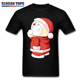 465350e1 T Shirt Wholesale Men Tshirt Xmas Gift Tees Kawaii Christmas Santa Claus  Print Tops Clothes 100% Cotton T-shirt Slim Fit Funny
