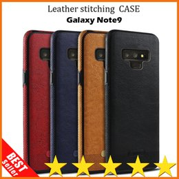 Chinese  New Arrival Samsung Case Note 9 For Samsung Galaxy S7 S9 Plus S6 S8 Edge Leather Soft Tpu phone Case Cover Coque manufacturers