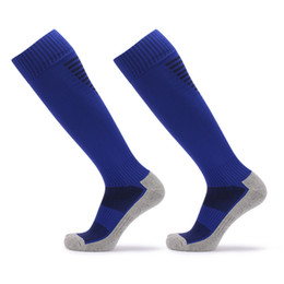 $enCountryForm.capitalKeyWord UK - Anti Slip Men's Male Football Socks Soccer Sports Running Long Stockings Leg Compression Stretch Knee High Thick Cotton Socks