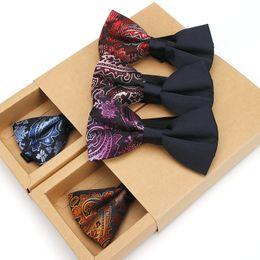 $enCountryForm.capitalKeyWord Australia - 2018 Fashion Men Polyester Silk Bowties Neckties For Men's Wedding Bowtie Classic Adjustable Bow Tie