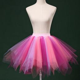 $enCountryForm.capitalKeyWord UK - TieredPuffy Tulle Skirts Multicolor For Women New Designed Skirt Tutu 2018 Clothes Ballet Dance Fluffy Tutu Skirt Korte rok *